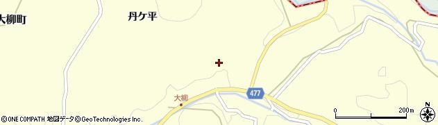 愛知県岡崎市大柳町(根畑)周辺の地図