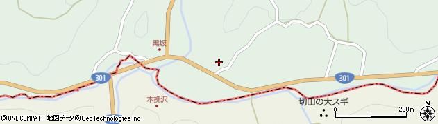 愛知県豊田市黒坂町(下平)周辺の地図