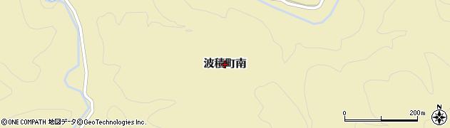 島根県江津市波積町南周辺の地図