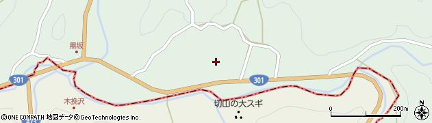 愛知県豊田市黒坂町(大門)周辺の地図