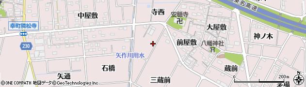 愛知県豊田市配津町(三蔵前)周辺の地図