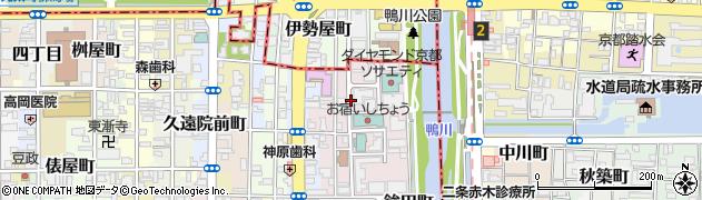 京都府京都市中京区末丸町周辺の地図
