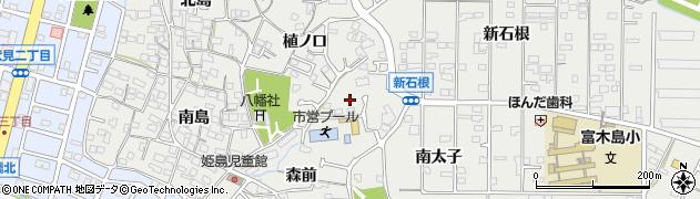 愛知県東海市富木島町(北太子)周辺の地図