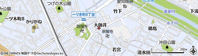 愛知県刈谷市一ツ木町(大師井)周辺の地図