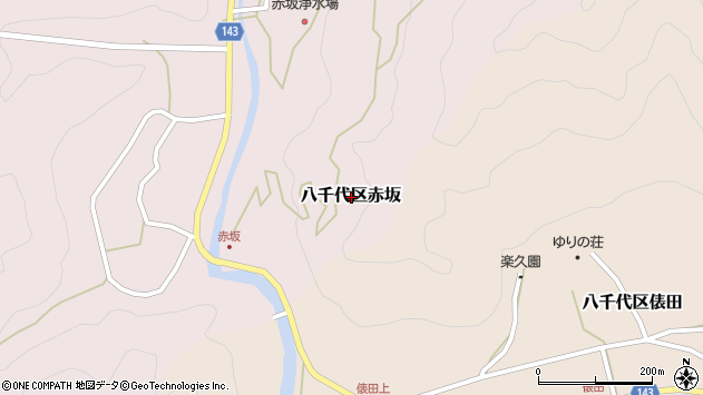 〒677-0112 兵庫県多可郡多可町八千代区赤坂の地図