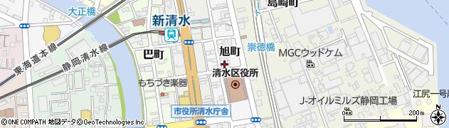 花周辺の地図