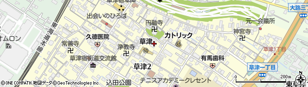伝久寺周辺の地図