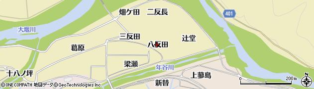 京都府亀岡市保津町(八反田)周辺の地図
