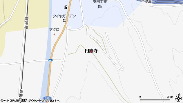 〒679-5307 兵庫県佐用郡佐用町円応寺の地図