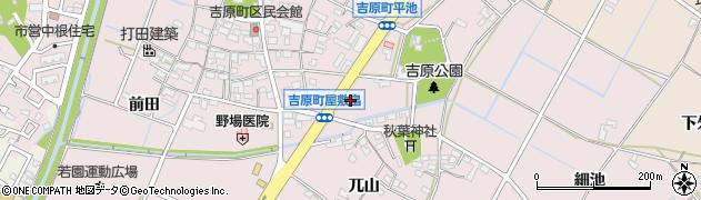 かつ雅 豊田吉原店周辺の地図