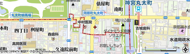 京都府京都市上京区伊勢屋町周辺の地図