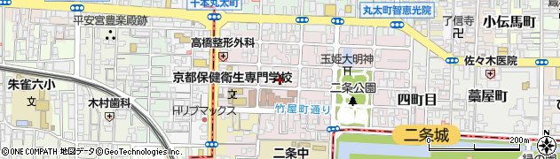 京都府京都市上京区主税町周辺の地図