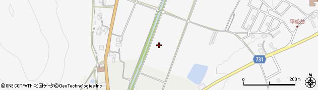 京都府亀岡市本梅町平松(和泉)周辺の地図