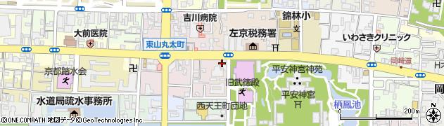 京都府京都市左京区聖護院円頓美町周辺の地図