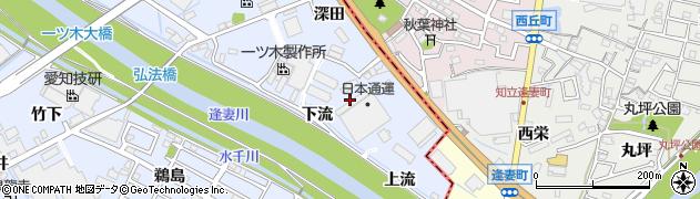 愛知県刈谷市一里山町(下流)周辺の地図