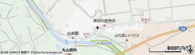 千葉県南房総市古川周辺の地図