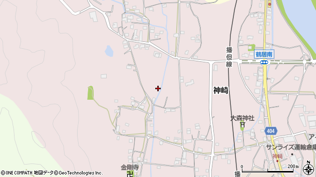 〒679-2333 兵庫県神崎郡市川町神崎の地図