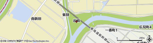 愛知県刈谷市泉田町(出崎)周辺の地図