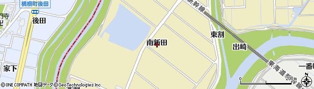 愛知県刈谷市泉田町(南新田)周辺の地図