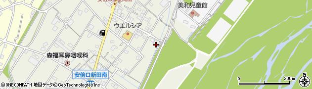 静岡県静岡市葵区安倍口新田周辺の地図
