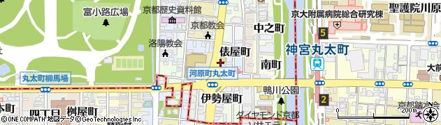 京都府京都市上京区桝屋町周辺の地図