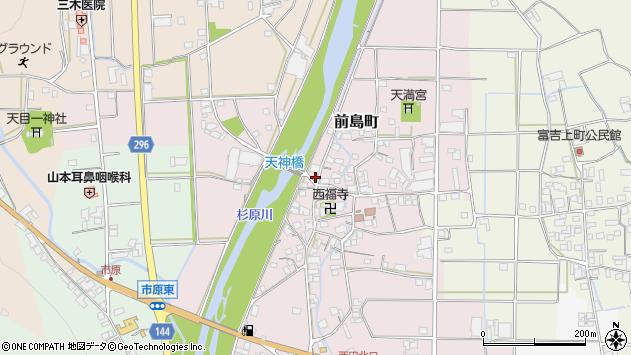 〒677-0002 兵庫県西脇市前島町の地図