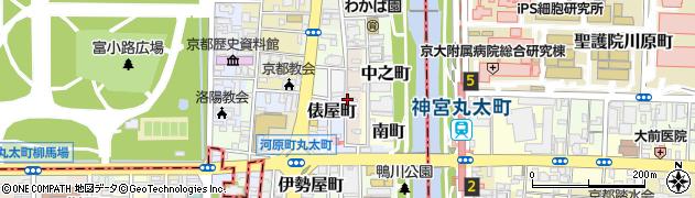 京都府京都市上京区真町周辺の地図