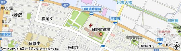 日野町役場 建設計画課道路河川担当周辺の地図