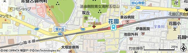 京都府京都市右京区花園扇野町周辺の地図