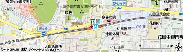 京都府京都市右京区花園寺ノ内町周辺の地図