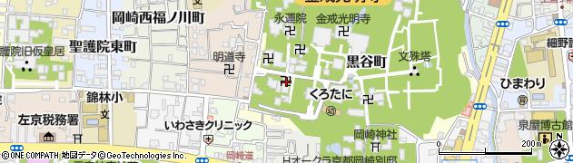 善教院周辺の地図
