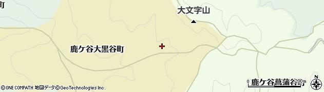 京都府京都市左京区鹿ケ谷大黒谷町周辺の地図