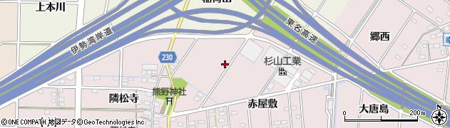 愛知県豊田市幸町(稲荷山)周辺の地図