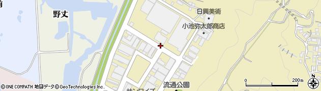 静岡県静岡市葵区流通センター周辺の地図