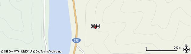 島根県美郷町(邑智郡)潮村周辺の地図