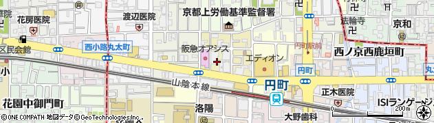 京都府京都市中京区西ノ京南大炊御門町周辺の地図