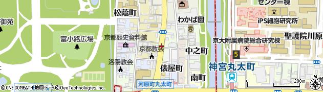 京都府京都市上京区出水町周辺の地図