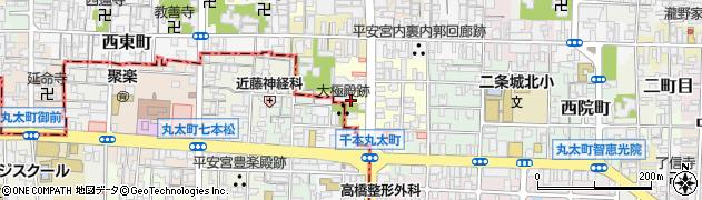 京都府京都市上京区小山町周辺の地図