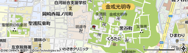 超覚院周辺の地図