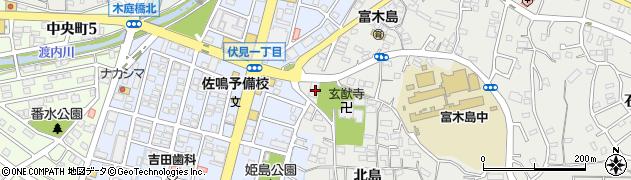愛知県東海市富木島町(寺下)周辺の地図