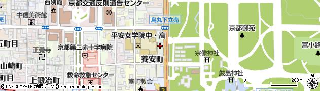京都府京都市上京区堀松町周辺の地図