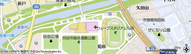 愛知県刈谷市築地町(向島)周辺の地図