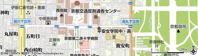 京都府京都市上京区東立売町周辺の地図