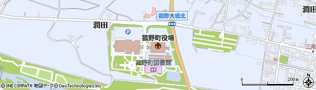 三重県三重郡菰野町周辺の地図