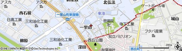 愛知県刈谷市一里山町(一里山)周辺の地図