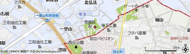 愛知県刈谷市一里山町(南弘法)周辺の地図