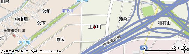 愛知県豊田市鴛鴨町(上本川)周辺の地図