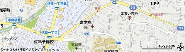 愛知県東海市富木島町(向イ)周辺の地図