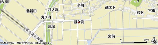 愛知県刈谷市泉田町(殿ケ渕)周辺の地図