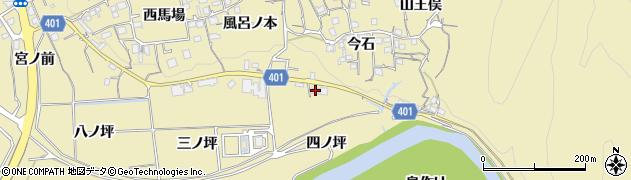 京都府亀岡市保津町(四ノ坪)周辺の地図